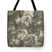 Death Of Dido, Gerard De Lairesse, 1668 Tote Bag