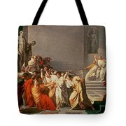 Death Of Julius Caesar Tote Bag