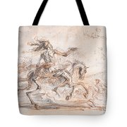Death On The Battlefield Tote Bag