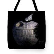 Death Star Apple Tote Bag