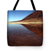 Death Valley Lake Tote Bag