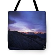 Death Valley Sunrise Tote Bag