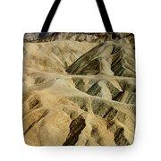 Death Valley Waves Tote Bag