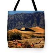 Death Valley's Mesquite Flat Sand Dunes Tote Bag