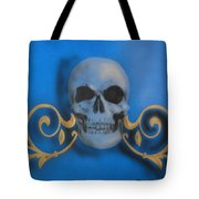 Death With A Flourish Tote Bag