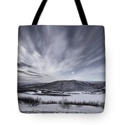 Deatnu Valley Scenery Tote Bag