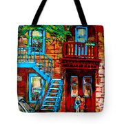 Debullion Street Neighbors Tote Bag