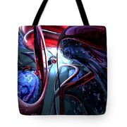 Decadence Abstract Tote Bag