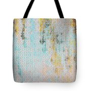 Decadent Urban Light Colored Patterned Abstract Design Tote Bag