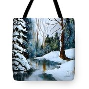 December Beauty Tote Bag