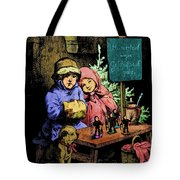 A Warm Moment On A Cold December Day Tote Bag