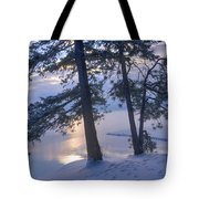 December Dawn Tote Bag