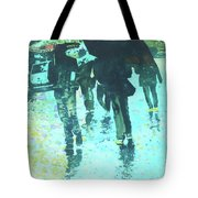 December Rain In Nurnberg Tote Bag