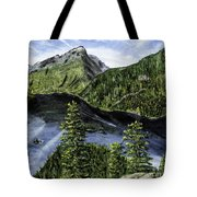 Deception Pass Painting Tote Bag