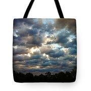 Deceptive Clouds Tote Bag