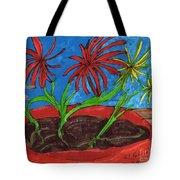 Deck Plant Tote Bag