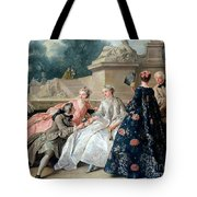 Declaration Of Love Tote Bag