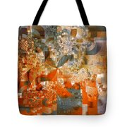 Deco Bubbles Tote Bag