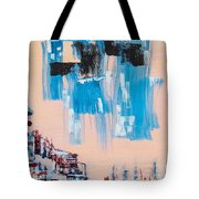 Wall District I Tote Bag
