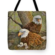 Decorah Eagle Family Tote Bag