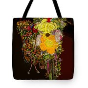 Decorated Amsterdam Bike Tote Bag