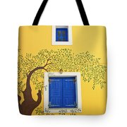 Decorated House Tote Bag