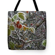 Decorated With Leaves Tote Bag