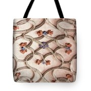 Decorations Of Art. Gothic Art Ribbings Tote Bag