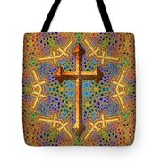 Decorative Cross Tote Bag