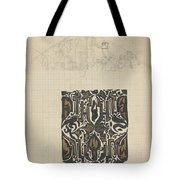 Decorative Design And Sketch Of The Front Tympanum Of The Royal Palace In Amsterdam, Carel Adolph Li Tote Bag
