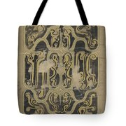 Decorative Design, Carel Adolph Lion Cachet, 1874 - 1945 Vq Tote Bag