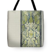Decorative Design In Green And Blue, Carel Adolph Lion Cachet, 1874 - 1945 Tote Bag