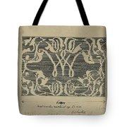 Decorative Design In National Colors, Carel Adolph Lion Cachet, 1874 - 1945 Tote Bag