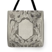 Decorative Design With Angels, Carel Adolph Lion Cachet, 1874 - 1945 Tote Bag