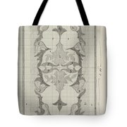 Decorative Design With Color Indications, Carel Adolph Lion Cachet, 1874 - 1945 Tote Bag
