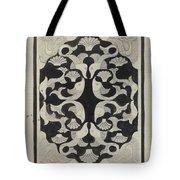 Decorative Design With Fish, Carel Adolph Lion Cachet, 1942 Tote Bag