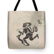 Decorative Design With Hares, Carel Adolph Lion Cachet, 1874 - 1945 Tote Bag