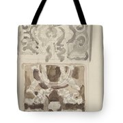 Decorative Designs With Seated Figures, Carel Adolph Lion Cachet, 1874 - 1945 Tote Bag