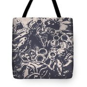 Decorative Dog Design Tote Bag