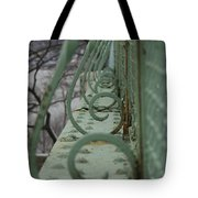 Decorative Foot Bridge Tote Bag