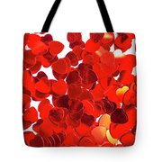Decorative Heart Background Tote Bag