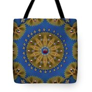 Decorative Pasta Collage Tote Bag