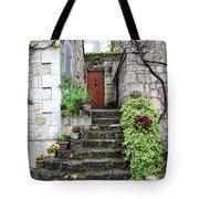 Decorative Stairway Tote Bag