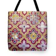 Decorative Tiles Islamic Motif  Tote Bag
