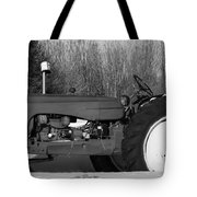 Decorative Tractor Tote Bag