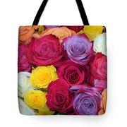 Decorative Wallart Brilliant Roses Photo A41217 Tote Bag by Mas Art Studio