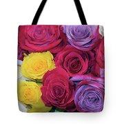Decorative Wallart Brilliant Roses Photo B41217 Tote Bag by Mas Art Studio