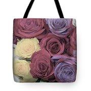 Decorative Wallart Brilliant Roses Photo C41217 Tote Bag by Mas Art Studio
