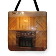 Decorative Woodworking Tote Bag