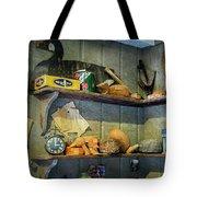 Decoy Workshop Shelves Tote Bag